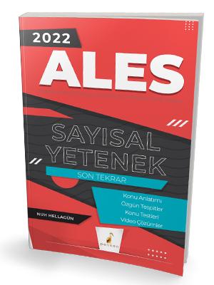 Pelikan Yayınları 2022 ALES Sayısal Yetenek Son Tekrar Konu Anlatımı N
