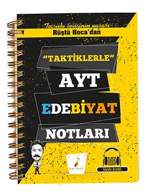 Rüştü Hoca'dan Taktiklerle AYT Edebiyat Notları Rüştü Bayındır