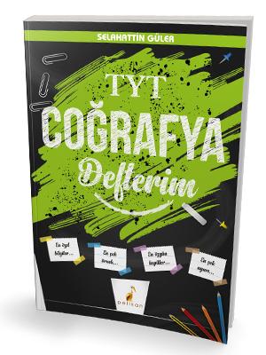 Pelikan Yayınları TYT Coğrafya Defterim
