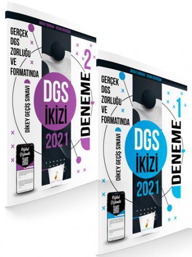 Pelikan Yayınları 2021 DGS İkizi 2 Özgün Deneme Sınavı Dijital Çözümlü