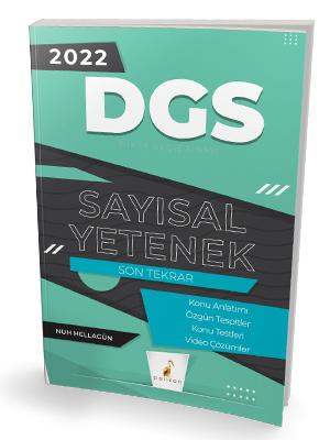 Pelikan Yayınları 2022 DGS Sayısal Yetenek Son Tekrar Konu Anlatımı Nu