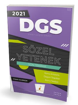 Pelikan Yayınları 2021 DGS Sözel Yetenek Son Tekrar Konu Anlatımı İhsa