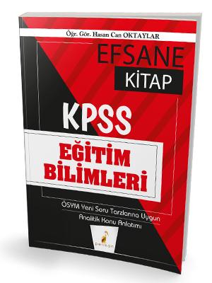 2020 KPSS Eğitim Bilimleri Efsane Kitap Konu Anlatımlı Hasan Can OKTAY