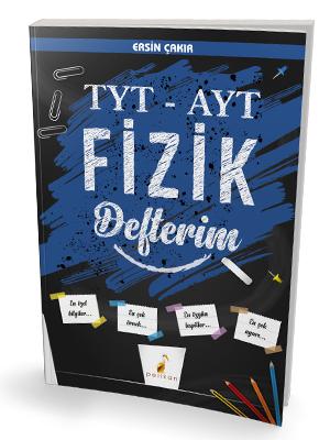 Pelikan Yayınları TYT - AYT Fizik Defterim Ersin Çakır