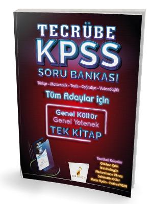 Pelikan Yayınları 2020 KPSS Genel Yetenek Genel Kültür Tecrübe Dijita