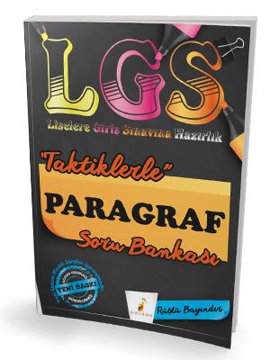 Pelikan LGS Liselere Giriş Sınavına Hazırlık Taktiklerle Paragraf Soru Bankası