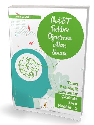 Pelikan Yayınları 2021 ÖABT Rehber Öğretmenliği Alan Sınavı Temel Psik