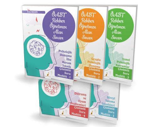 2021 ÖABT Rehber Öğretmenliği Alan Sınavı 5 Modülden Oluşan Soru Seti