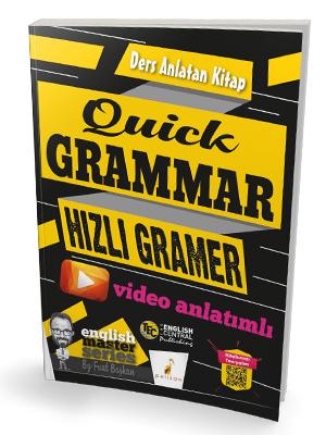 Quick Grammar Hızlı Gramer Video Anlatımlı Ders Anlatan Kitap %45 indi