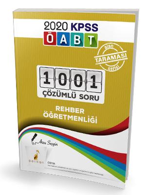 Pelikan Yayınları 2020 ÖABT Rehber Öğretmenliği 1001 Çözümlü Soru Arz
