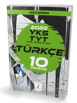 YKS TYT 2020 Türkçe Dijital Çözümlü 10 Deneme Sınavı