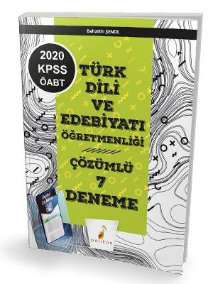 Pelikan Yayınları 2020 KPSS ÖABT Türk Dili Edebiyatı Öğretmenliği Diji