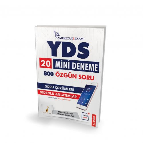 YDS 20 Mini Deneme 800 Özgün Soru - Müjde Sarıkaya, Hüseyin Sarıkaya