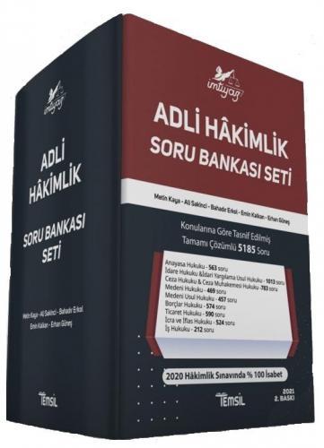 Temsil Yayınları 2021 Adli Hakimlik Soru Bankası Seti Çözümlü 2. Baskı