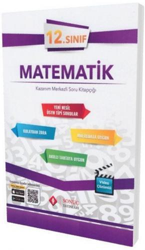 Sonuç Yayınları 12. Sınıf Matematik Kazanım Merkezli Soru Kitapçığı Seti