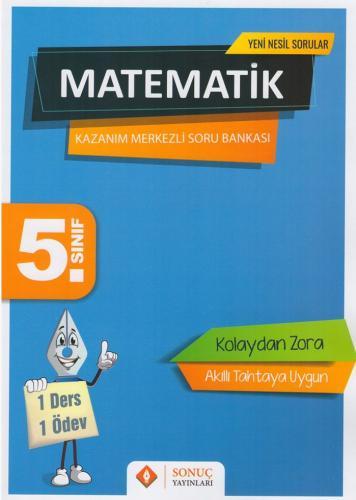Sonuç Yayınları 5. Sınıf Matematik Kazanım Merkezli Soru Kitapçığı Set