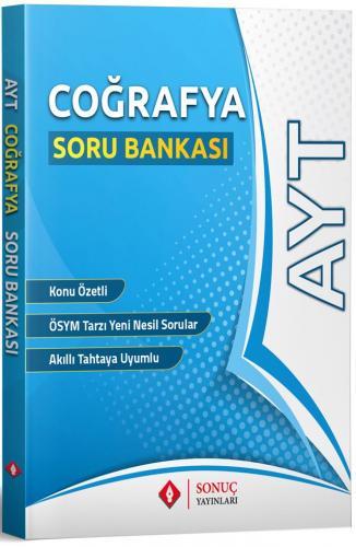 Sonuç Yayınları AYT Coğrafya Soru Bankası