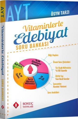 Sonuç Yayınları AYT Vitaminlerle Edebiyat Soru Bankası