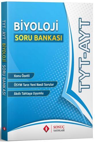 Sonuç Yayınları TYT AYT Biyoloji Soru Bankası
