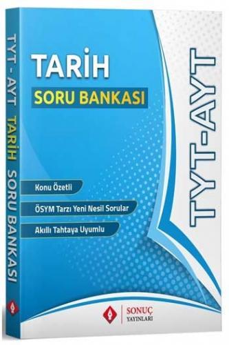Sonuç Yayınları TYT AYT Tarih Soru Bankası