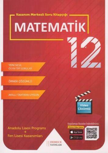 Derece Yayınları 12. Sınıf Matematik Kazanım Merkezli Soru Kitapçığı Seti