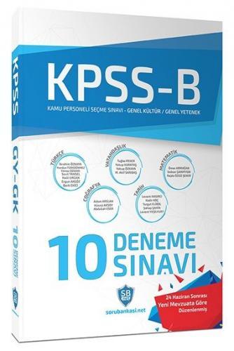 Soru Bankası Net Yayınları KPSS B Genel Yetenek Genel Kültür Çözümlü 10 Deneme Sınavı