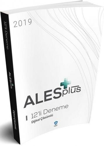 Soru Bankası Net Yayınları 2019 ALES Plus 12li Deneme %40 indirimli