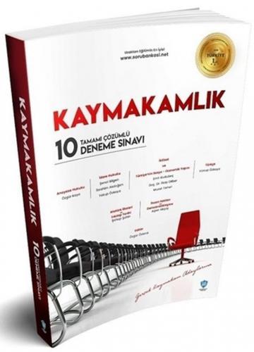 Kaymakamlık Tamamı Çözümlü 10 Deneme Sınavı Soru Bankası Net Yayınları