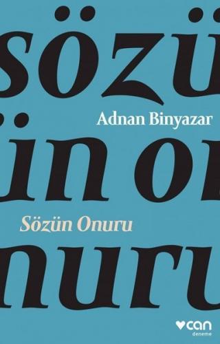 Sözün Onuru - Adnan Binyazar