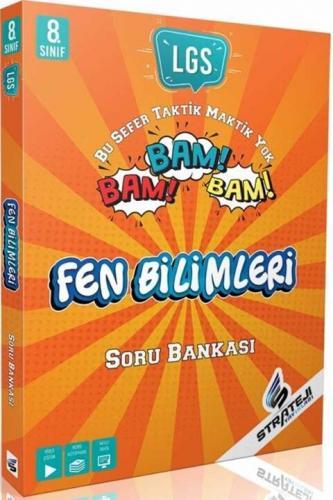 Strateji Yayınları 8. Sınıf Fen Bilimleri Bam Bam Soru Bankası Komisyo