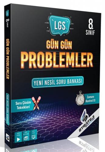 Strateji Yayınları 8. Sınıf LGS Matematik Gün Gün Problemler Soru Bank