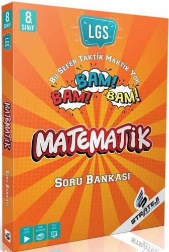 Strateji Yayınları 8. Sınıf Matematik Bam Bam Soru Bankası Komisyon