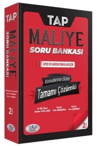 Tap Yayınları KPSS A Grubu Maliye Konularına Göre Tamamı Çözümlü Soru