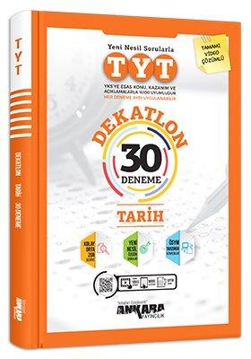Ankara Yayıncılık TYT Tarih Dekatlon 30 Deneme Video Çözümlü Komisyon