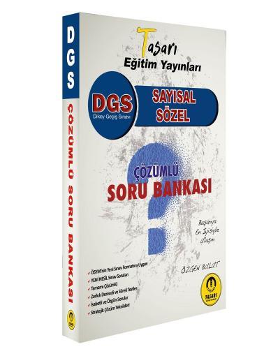 Tasarı Yayınları 2021 DGS Çözümlü Soru Bankası Özgen Bulut