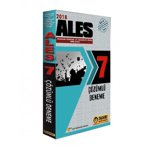 Tasarı Akademi ALES Tamamı Çözümlü 7 Deneme Sınavı 2018