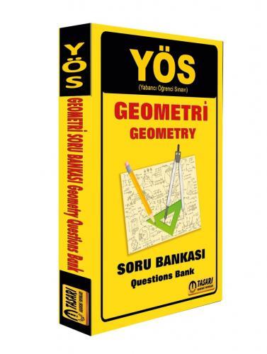 Tasarı Yayınları 2018 YÖS Geometri Soru Bankası