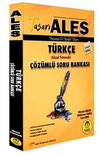 Tasarı Yayınları 2020 ALES Türkçe Çözümlü Soru Bankası %35 indirimli
