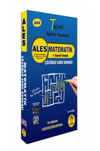 Tasarı Yayınları 2022 ALES Matematik Video Çözümlü Soru Bankası Cem Öz