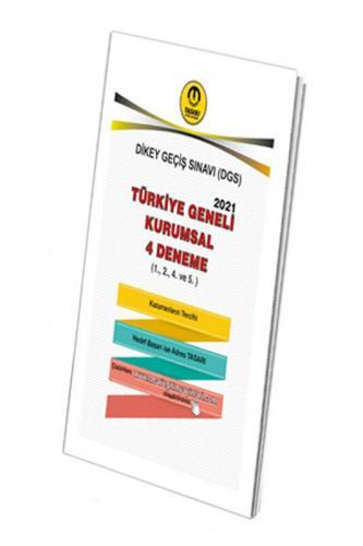 Tasarı Yayınları DGS TÜRKİYE GENELİ 4 DENEME ( 1.2.4.5.) Özgen Bulut