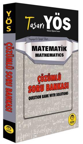 Tasarı Yayınları YÖS Matematik Çözümlü Soru Bankası Komisyon