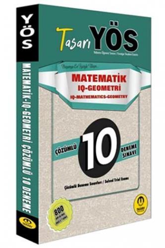 Tasarı Yayınları YÖS Matematik IQ-Geometri Çözümlü 10 Deneme Sınavı