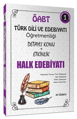 Ali Özbek 2021 ÖABT Türk Dili ve Edebiyatı Halk Edebiyatı Konu Anlatım