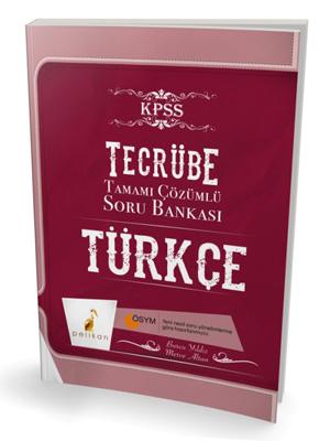 Tecrübe KPSS Türkçe Tamamı Çözümlü Soru Bankası 2018