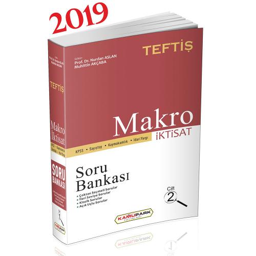 Kamupark TEFTİŞ KPSS Makro İktisat Cilt 2 Soru Bankası
