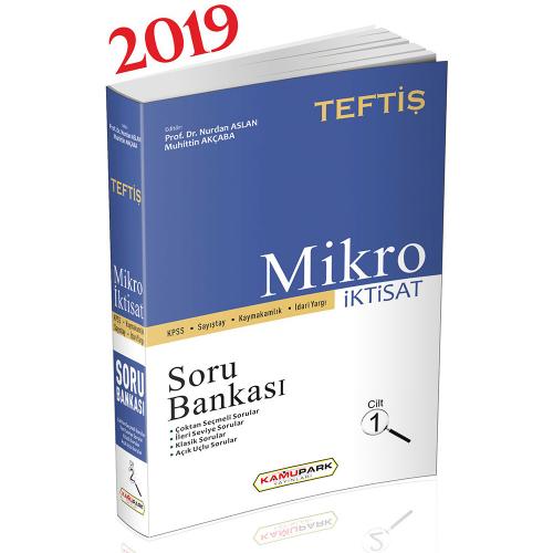 Kamupark TEFTİŞ KPSS Mikro İktisat Cilt 1 Soru Bankası