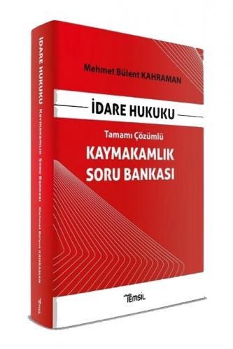Temsil Yayınları İdare Hukuku Kaymakamlık Soru Bankası Tamamı Çözümlü
