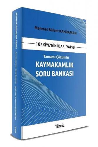 Temsil Yayınları Türkiye'nin İdari Yapısı Kaymakamlık Soru Bankası Tam