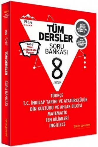 Tercih Akademi Yayınları 8. Sınıf Tüm Dersler Soru Bankası Komisyon