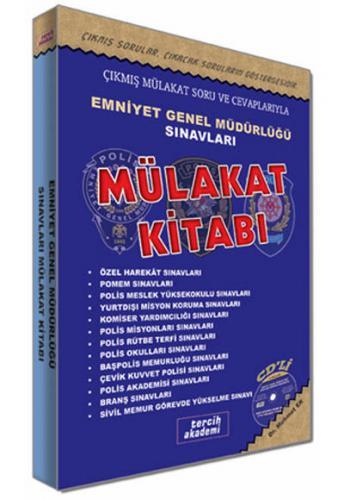 Tercih Akademi Emniyet Genel Müdürlüğü Sınavları Sonrası Mülakat Kitabı CD'li